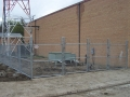6' Galvanized with Top, Bottom & Middle Rail with Extra Heavy Duty Double Swing Gate