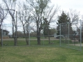Backstop with No Overhang