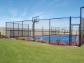 Full Color Black Sport Court