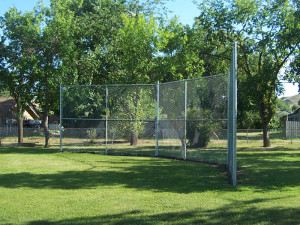 Ball Diamonds Amp Backstops Strictly Fences